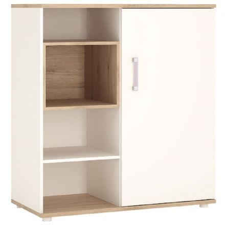 4KIDS Low cabinet with shelves (sliding door)